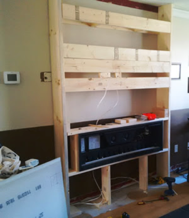 Diy Electric Fireplace Install Electric Fireplace Insert