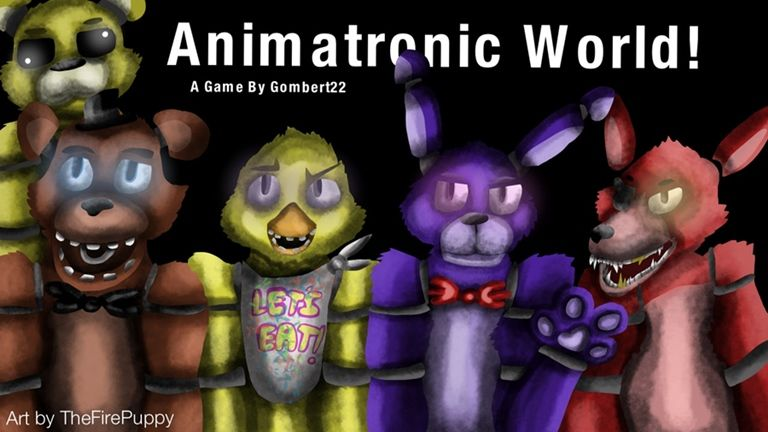 Animatronic World Roblox Roblox Pictures Roblox World