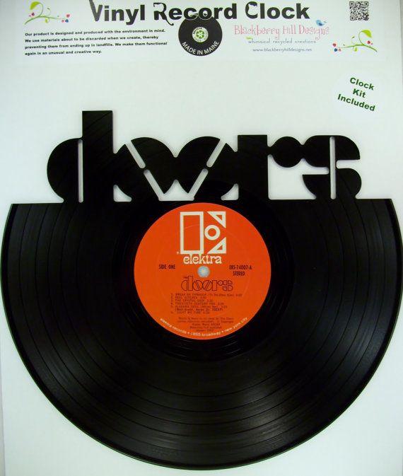 Vinyl Record DOORS Wall Art & Vinyl Record DOORS Wall Art   Vinyl Art   Pinterest   Vinyls Be ... Pezcame.Com