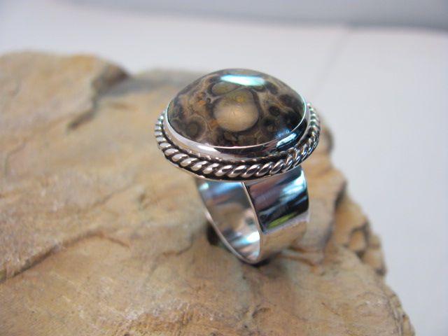 Ocean Jasper in Sterling silver