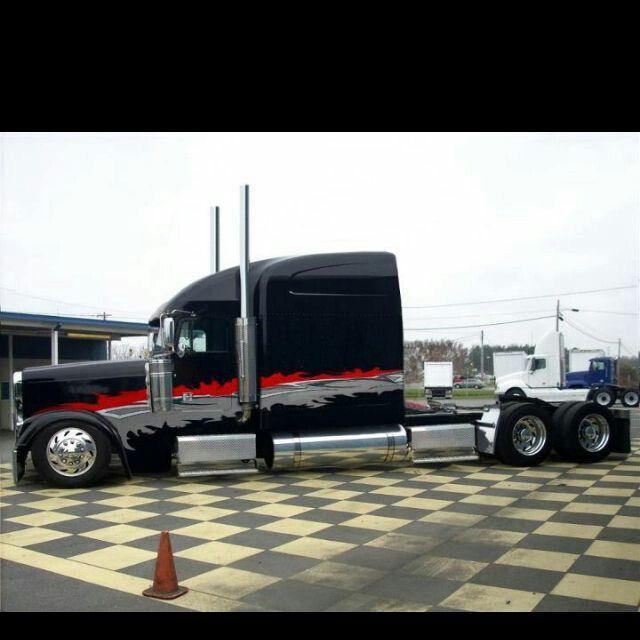 Custom Freightliner Classic Xl Large Car Street Big