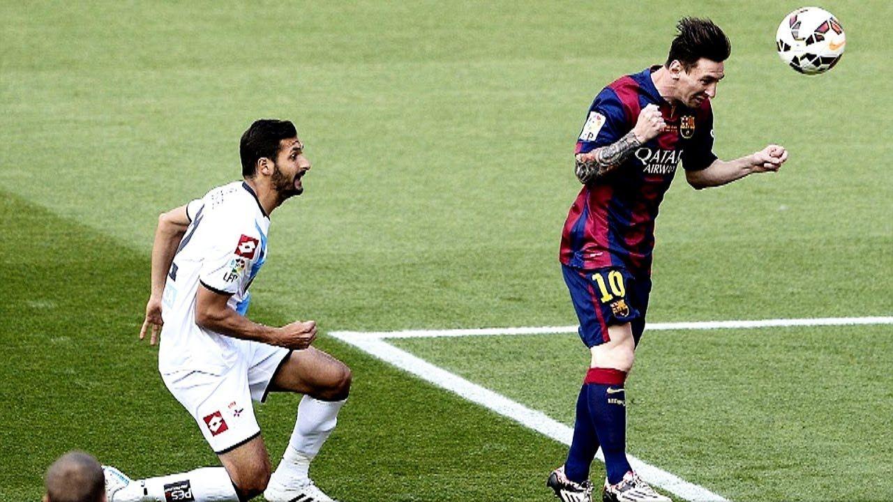 Messi S Best Header Goals R Soccer Deportivo La Coruna La Liga Messi