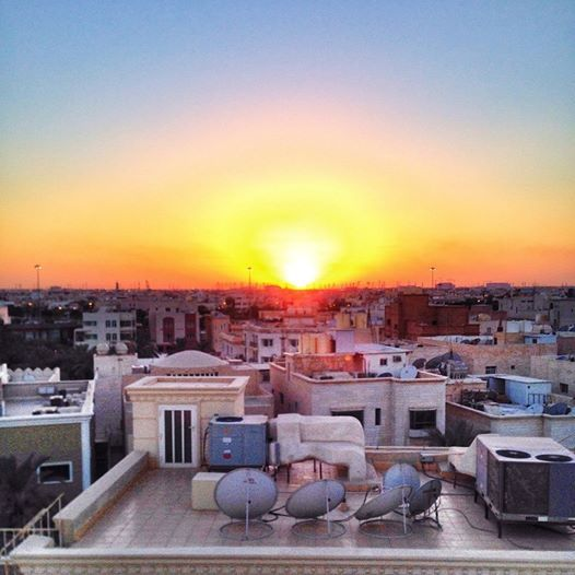 Sunset View Apartments: 22 October 2014 Sunset View From My