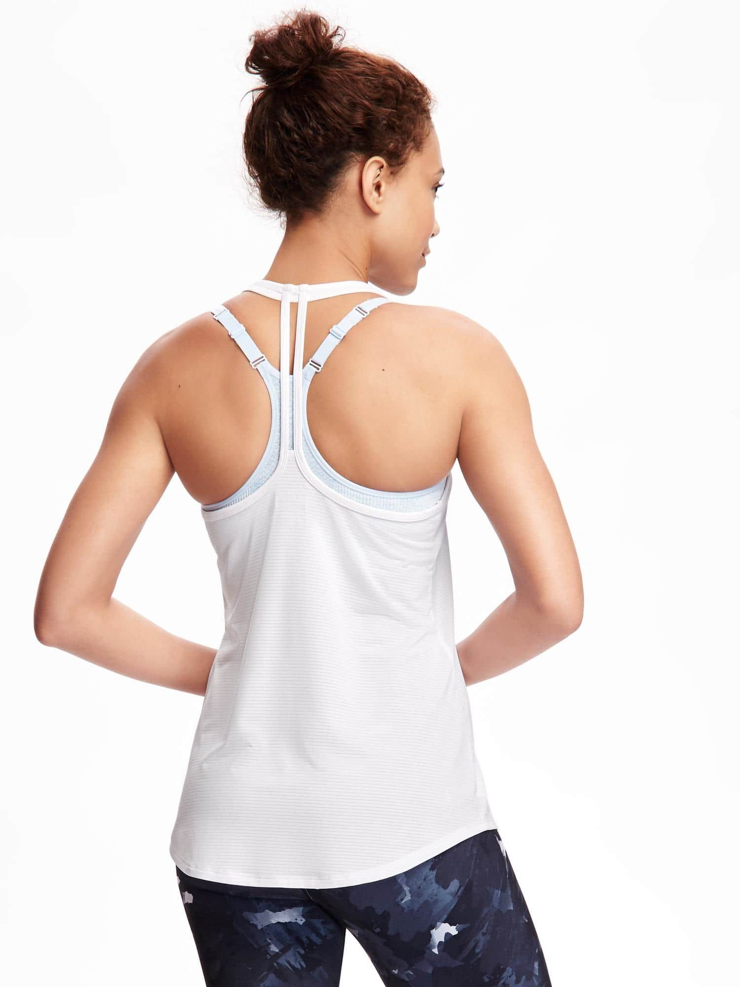GoDry Performance Strappy Tank for Women Old Navy