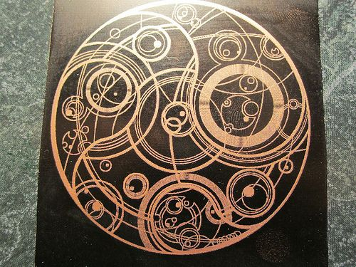 Gallifreyan Artwork Doctor Who Pinterest Symbols Time Lords