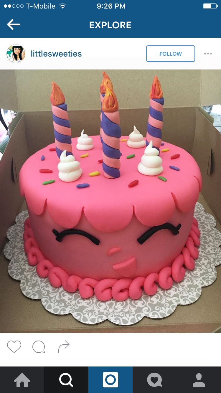 Shopkins Cake | audreys birthday | Pinterest | Tortilla, Pastelitos ...
