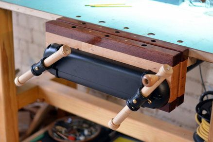 Veritas Twin Screw Vise Maple And Jarrah Workbenchs