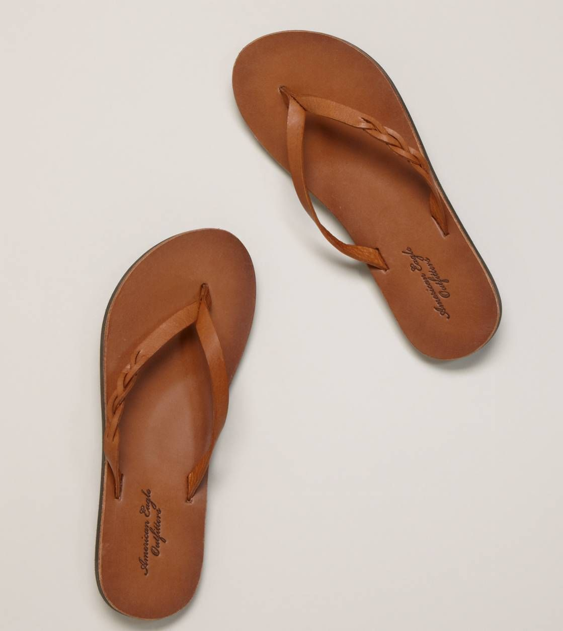 3774d3c4f64 AEO Braid Slide Sandals in 2019 | My Style | Shoes, Leather flip ...