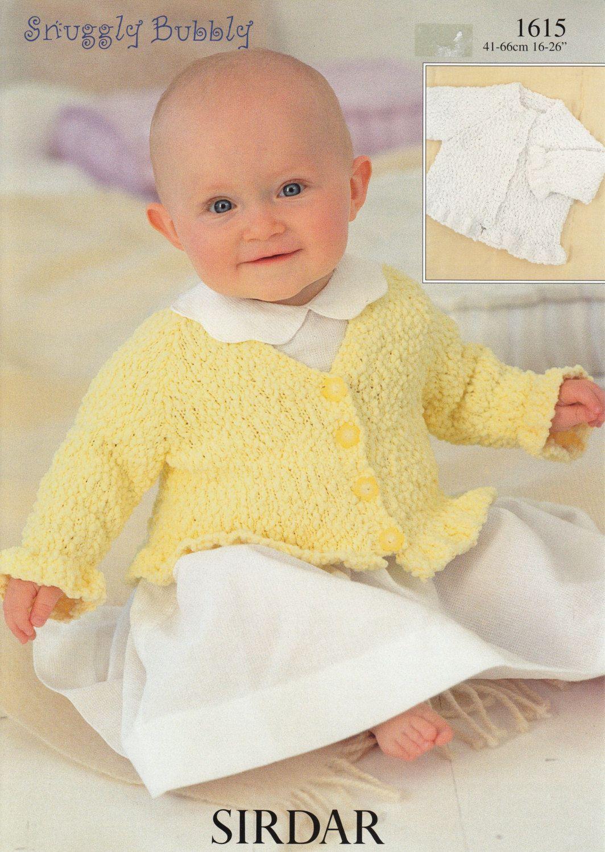 Baby girl  designer knitting pattern /'Caitlin/' 0-3 /& 6-12mths *Free postage*