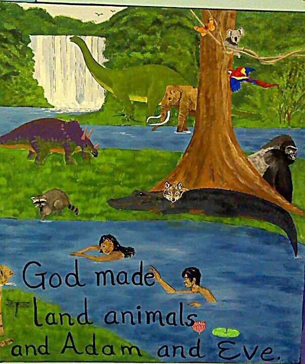 Creation painting