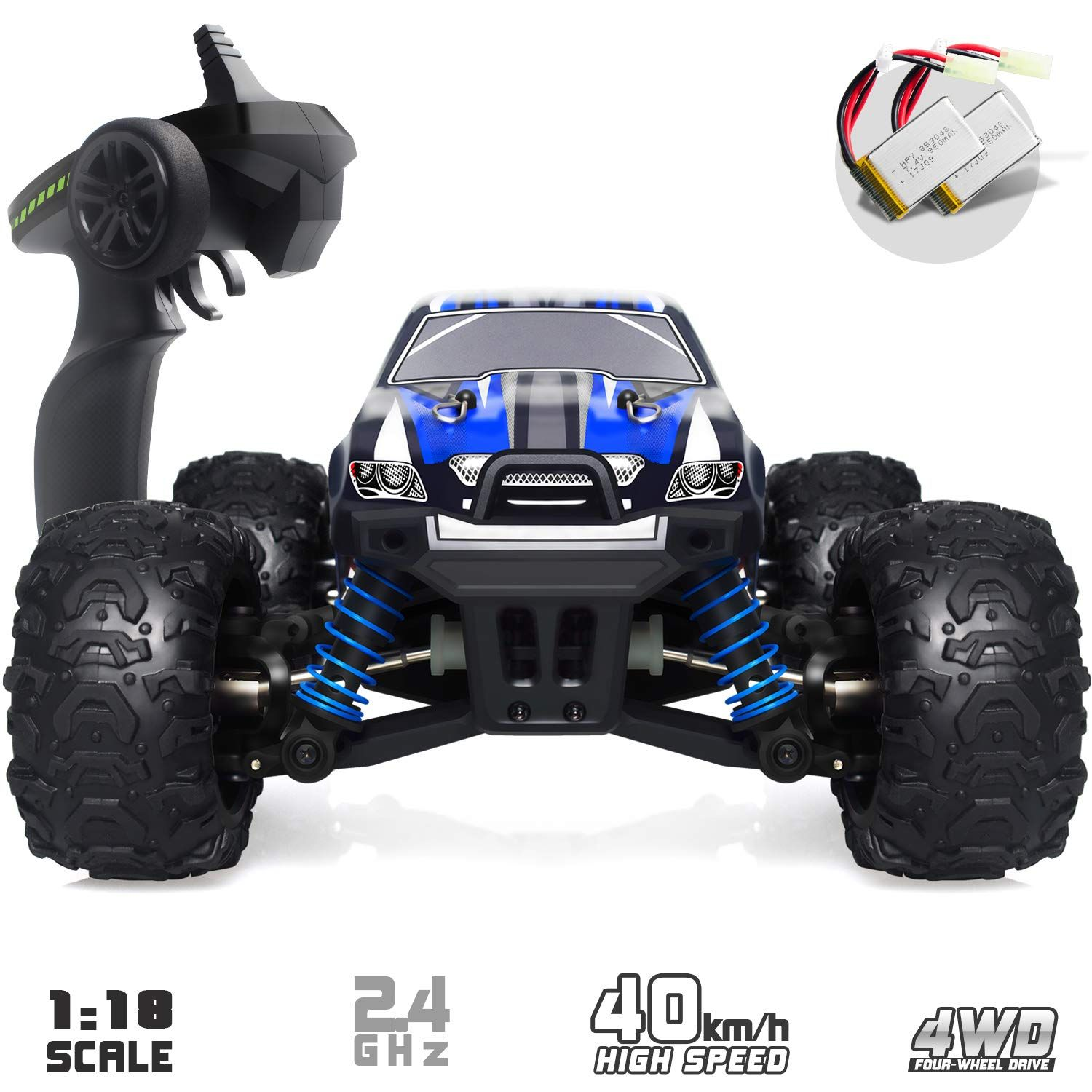 Vcanny Remote Control Car Terrain Rc Cars Electric Remote Control Off Road Monster Truck 1 18 Scal In 2020 Remote Control Trucks Monster Trucks Remote Control Cars