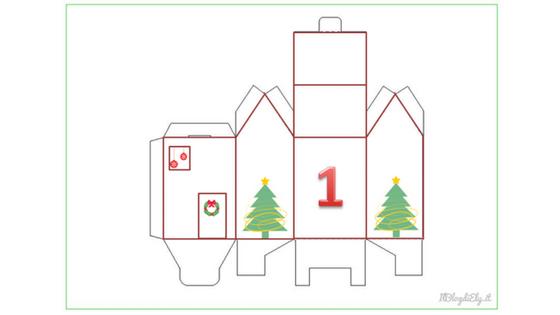 Calendario Dellavvento Da Stampare Per Bambini.Calendario Dell Avvento Per Bambini Da Stampare Scaricare E