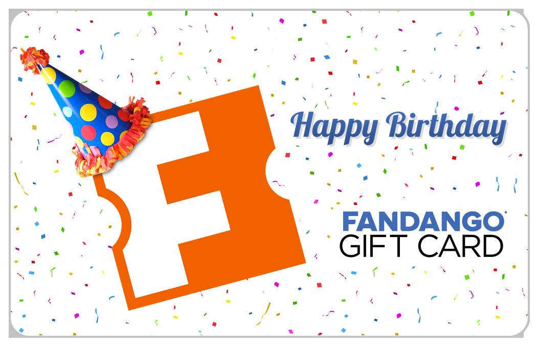 Birthday Movie Gift Card