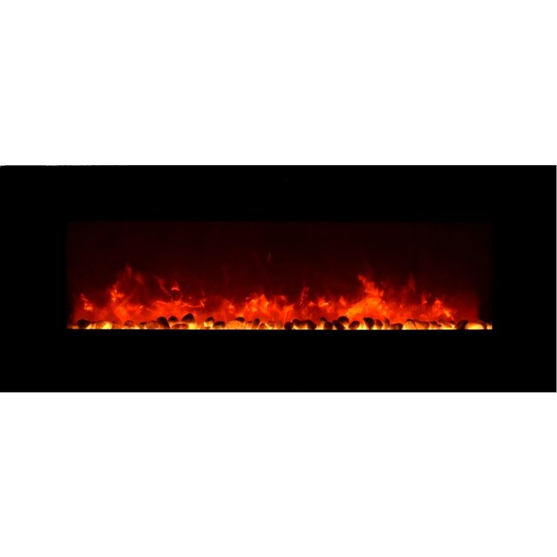 Amantii Wall Mount Led Fire Effect Electric Fireplace 50 Quot