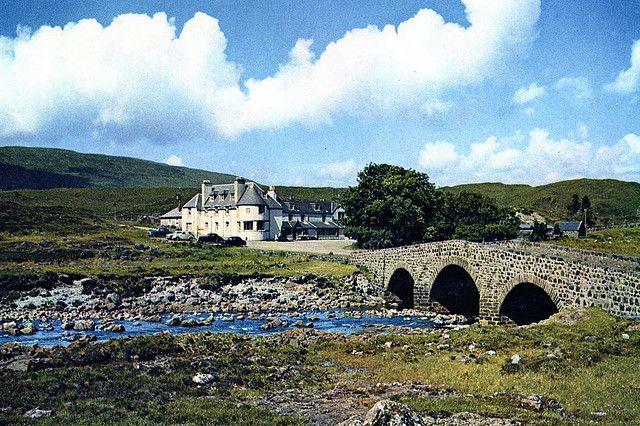 Sligahan Hotel, Sligahan, Isle of Skye, Scotland. Need to go back and climb the Black Cullen!