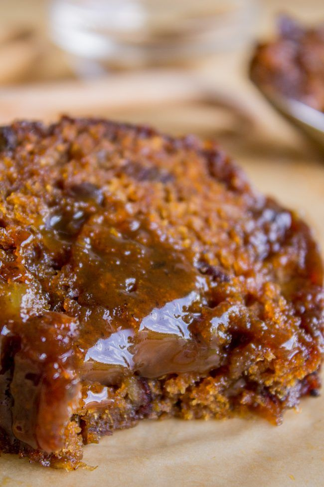 Ginger Sticky Toffee Pudding Cake from The Food Charlatan