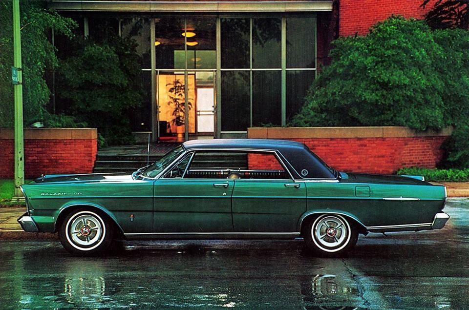 1965 Galaxie 500 LTD 4-Door Hardtop Maintenance ...  1965 Galaxie 50...
