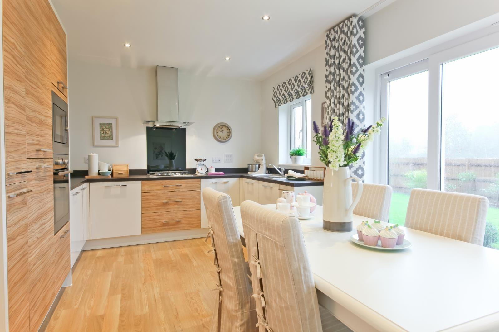 Best Excited For My Letchworth Kitchen Diner Grey Wood Floor 400 x 300