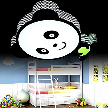 🐼 Kinderzimmer Motto Panda: Cartoon LED-Deckenleuchten Panda ...
