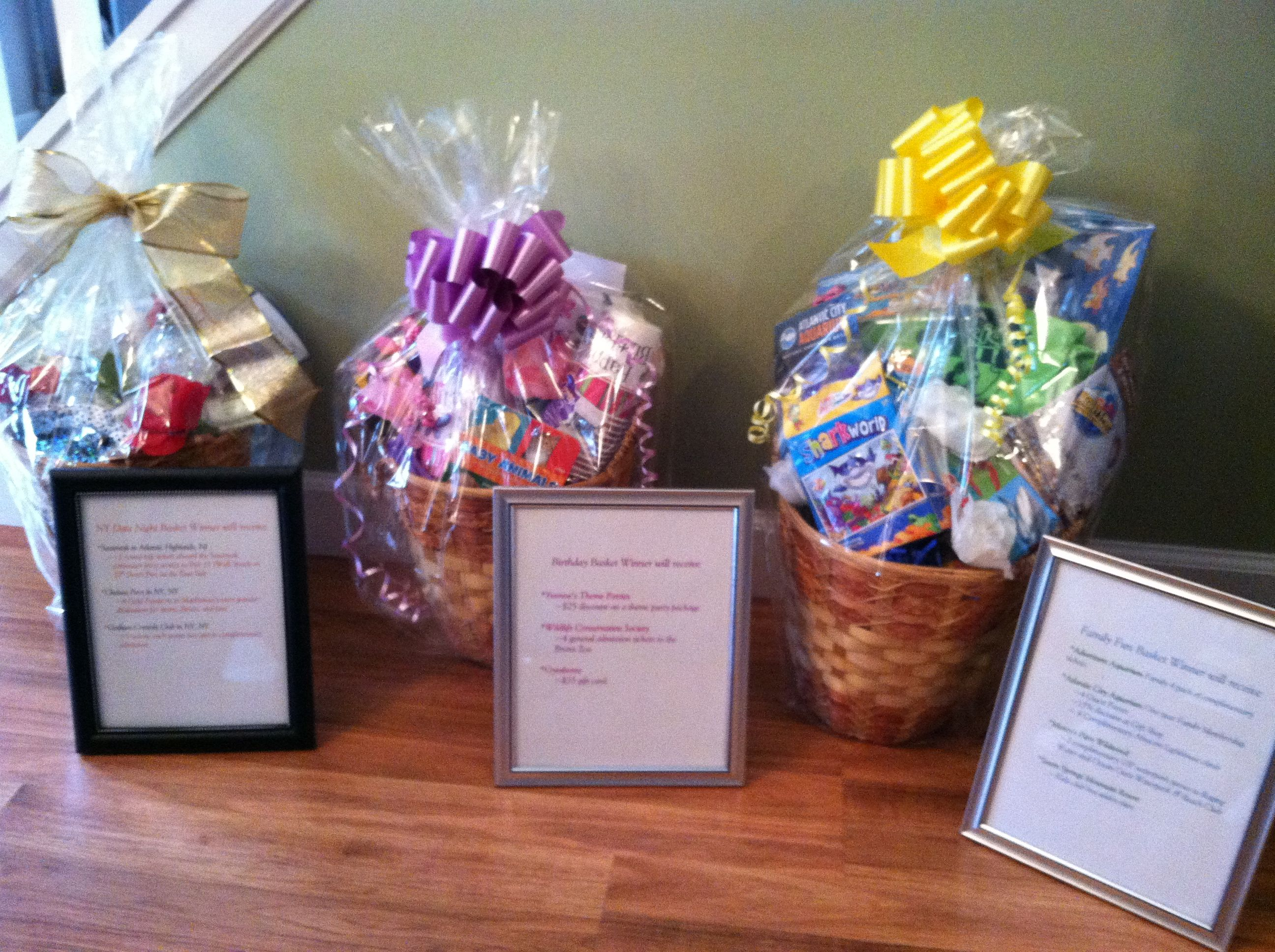 Gift baskets for our schools fundraiser using dollar store items gift baskets for our schools fundraiser using dollar store items baskets include gift certificates and negle Images