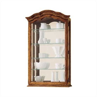 Darby Home Co Brammer Wall Mounted Curio Cabinet Products