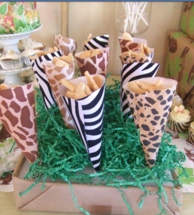 Candy Bar Safari Treats