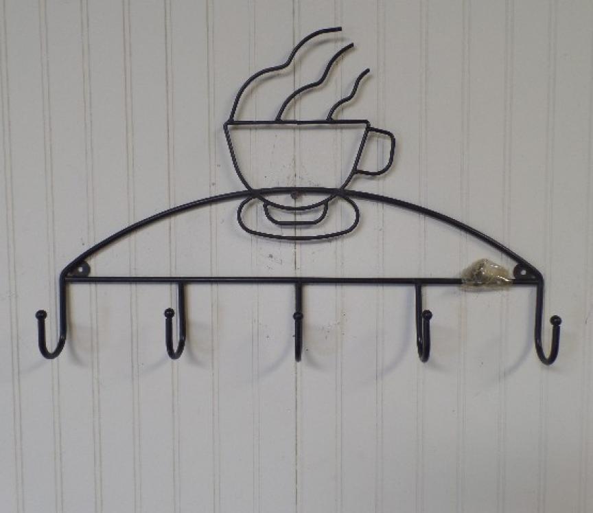 Metal Coffee Department store Cup Tea Mug Rack Holder