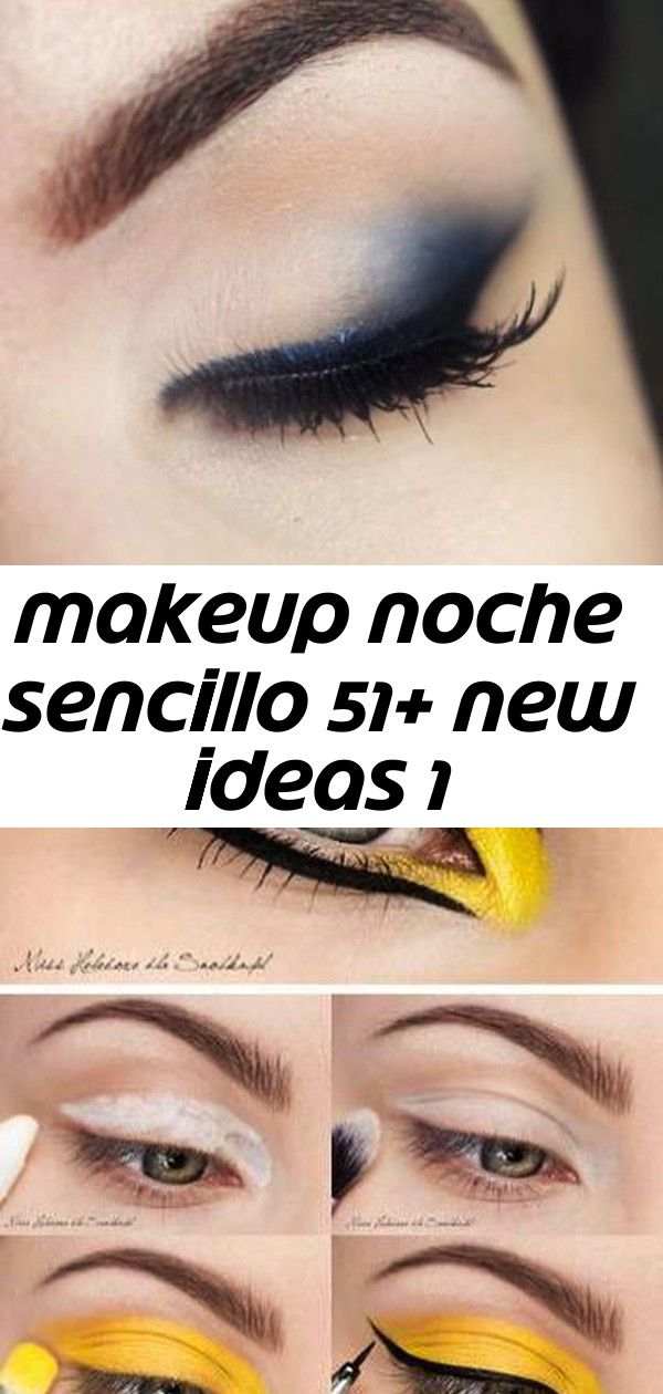 Makeup noche sencillo 51+ new ideas 1 #glittereyeliner