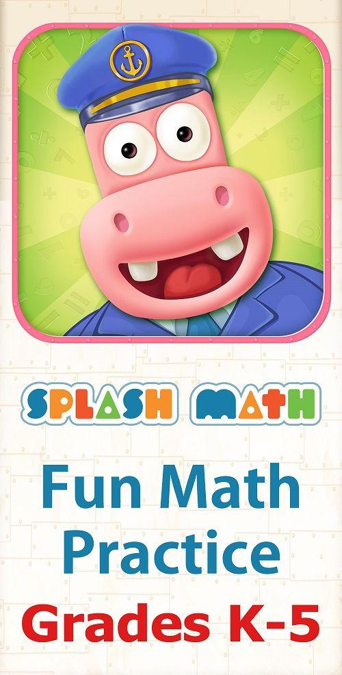 Splash Math Fun Math Practice For Grades 1 5 Splash Math Fun