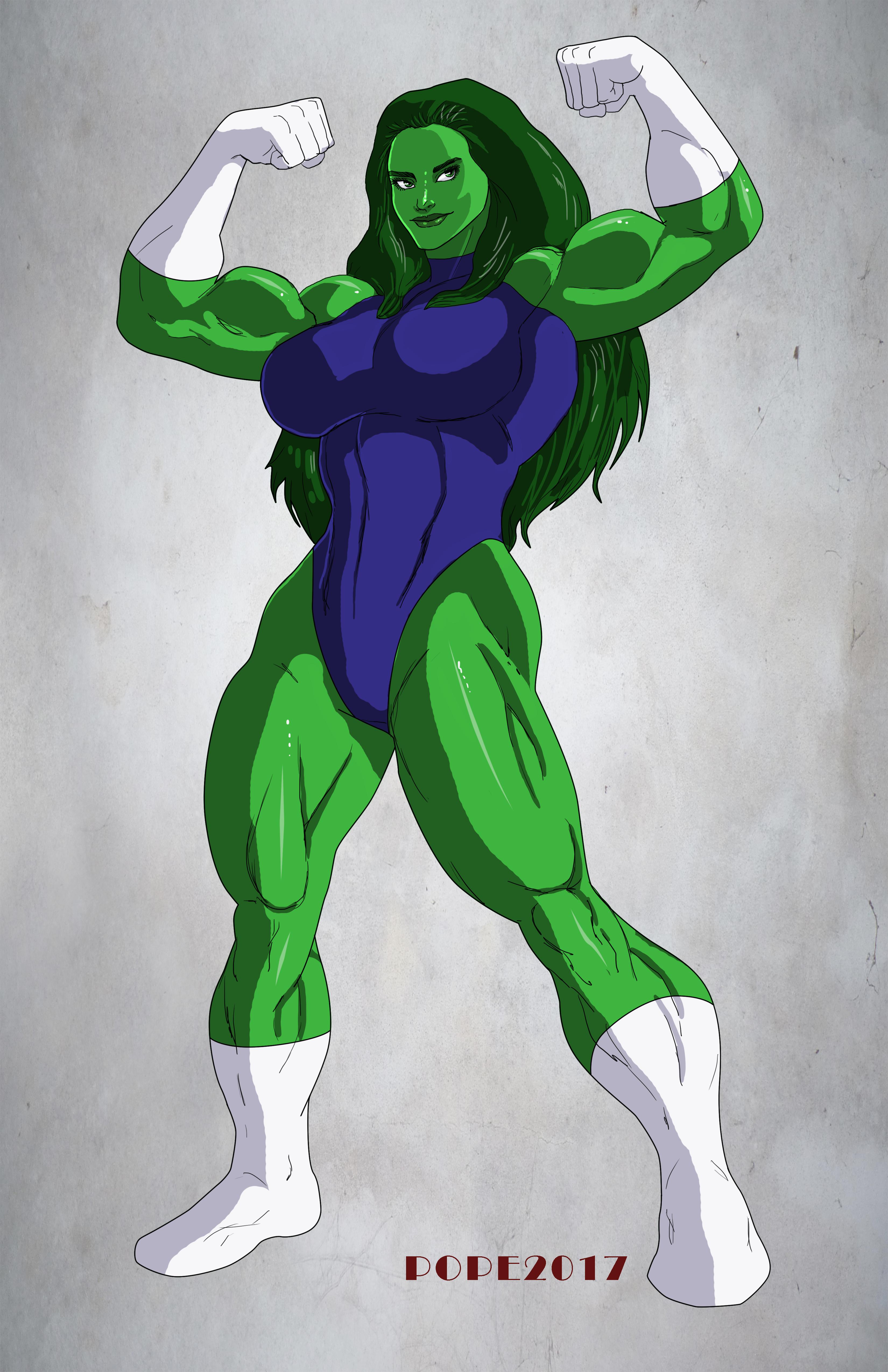 She Hulk By Hulkdaddyg Shehulk Hulk Art Hulk