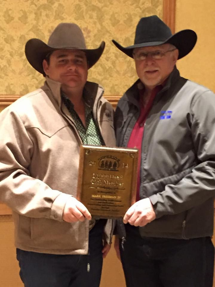 Osage wins award for selling more than 10,000 head of cattle