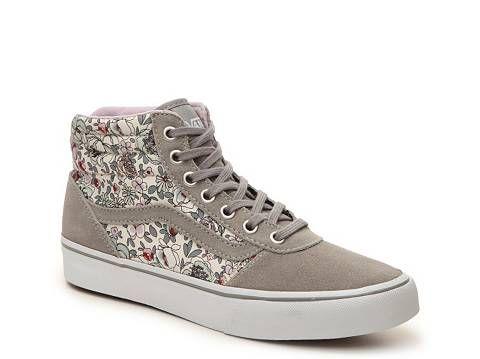06550d2660569d Vans Milton Hi Floral High-Top Sneaker - Womens