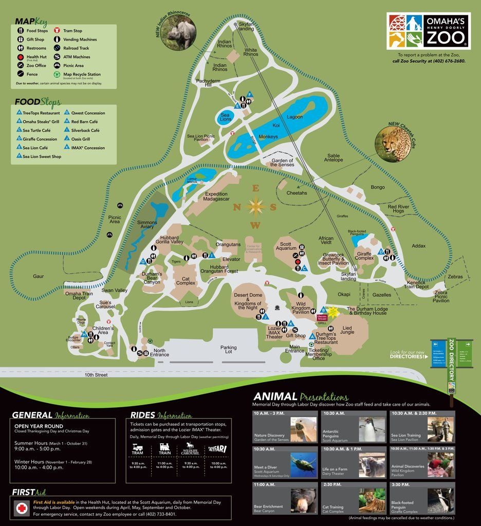 Henry Doorly Zoo Map Omaha Henry Doorly Zoo   Maps   Maplets | Maps in 2019 | Omaha zoo