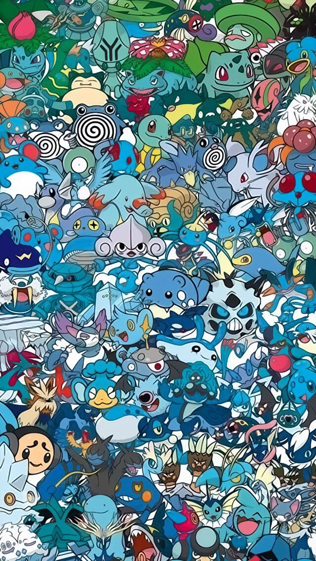 Water And Ice And Blue Pokemon Pokemon Backgrounds