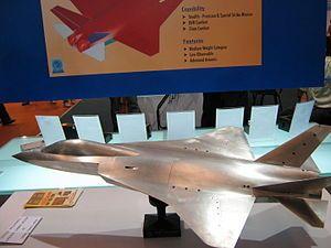El avión de combate avanzado Medio (AMCA) de quinta generación programa de caza furtivo