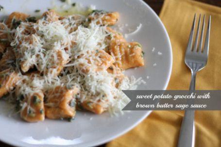 Sweet Potato Gnocchi in Sage Brown Butter   FoodLovesWriting.com