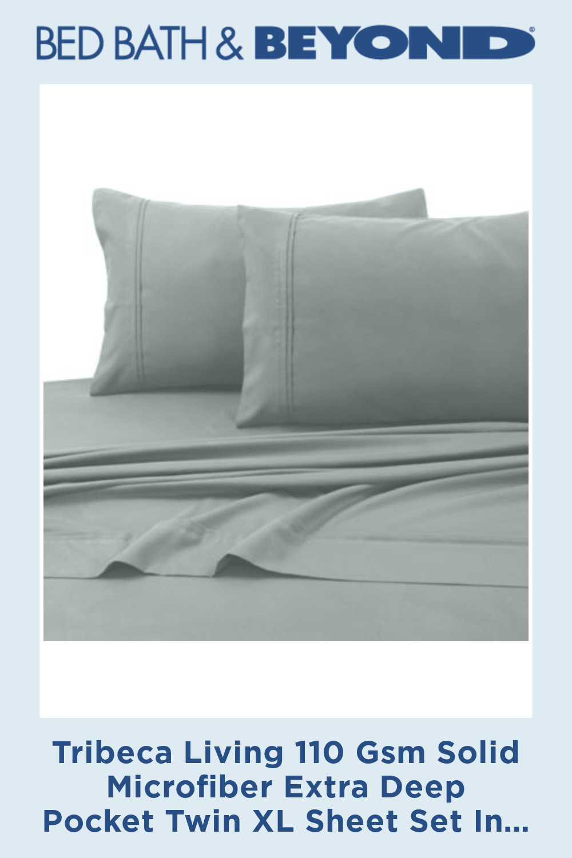 Pin By Vanessa Barrera On Hogar Tribeca Living Extra Deep Pocket Sheets King Sheet Sets Twin xl deep pocket sheets
