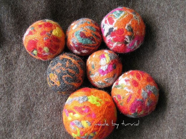 Felted Balls ;) by turvid, via Flickr