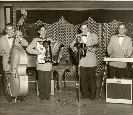 April 12th 1954:  Bill Haley recorded 'Rock Around The Clock' at Pythian Temple studios in New York City.