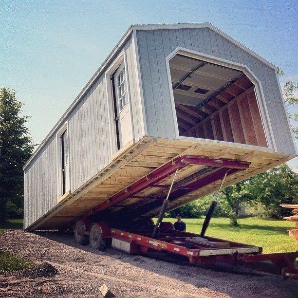 SHEDS with Garage Doors» (Built & Delivered in 2020