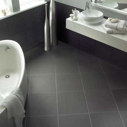 Bathroom Stunning Bathroom Floor Tiles With Limestone Cool And Graceful Grey Color Also Fresh Tile Floor Designs In The Bathrooms With A Walk In Shower And