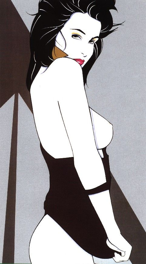 Patrick Nagel 1945 - February 4th 1984. Patrick Nagel was an American artist, known for his focus on women and the female form, in the Art Deco style., via Tammy Schmidt