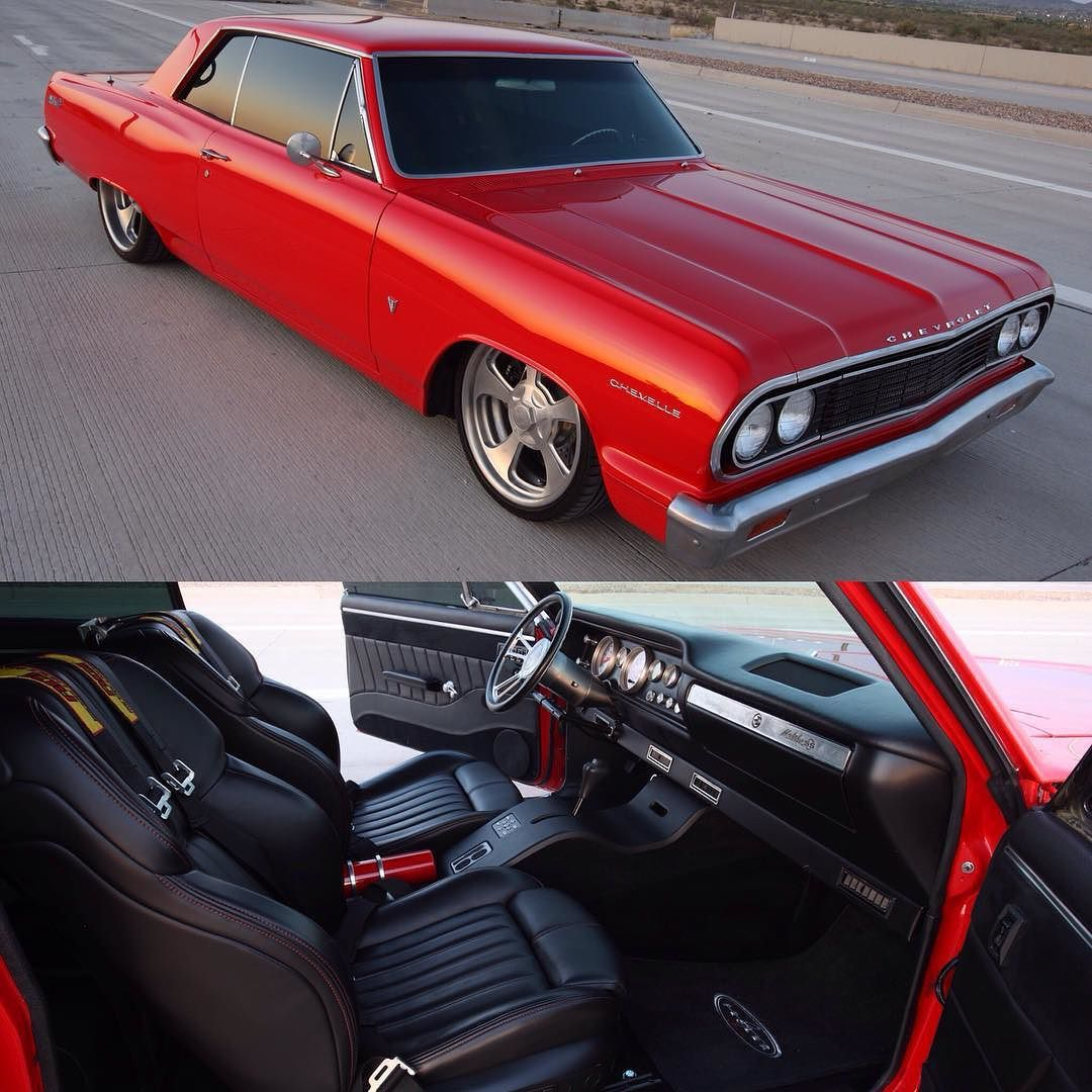 1964 Chevelle Malibu SS with Fesler interior and billet parts ...