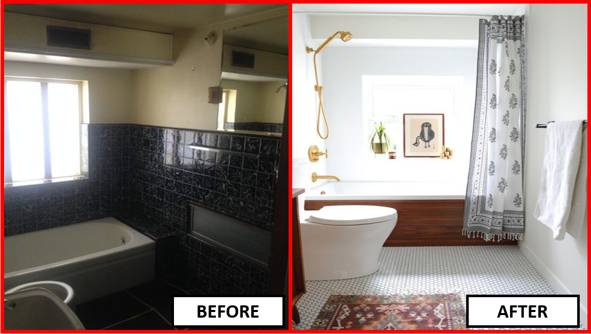 100 Inspiring Small Bathroom Remodel Before After Small Bathroom