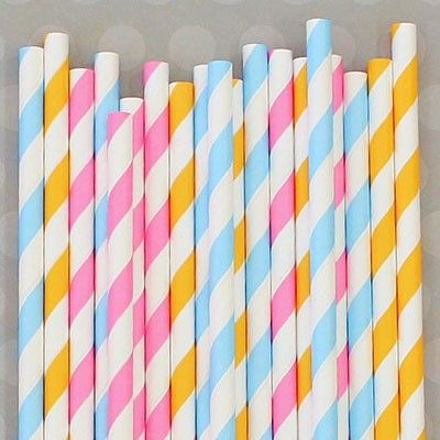 We are your friendly little shop for paper straws, the sweetest treat bags, and all things vintage, party, FUN! Our products are inspired by simpler times and we pack them adorably just for you. Shipped with lightning speed.