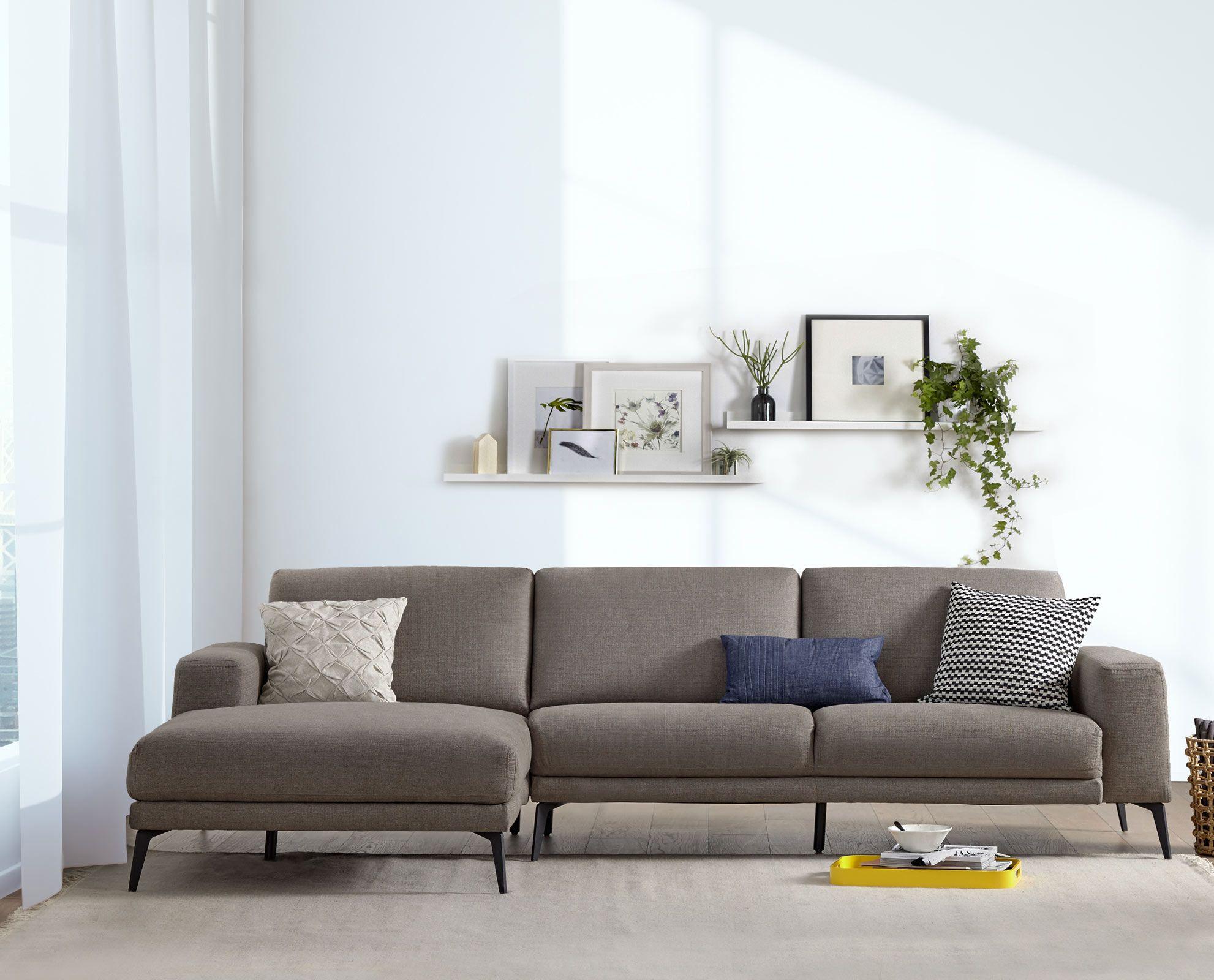 Dorete Left Chaise Sectional | Home decor | Pinterest | Contemporary ...