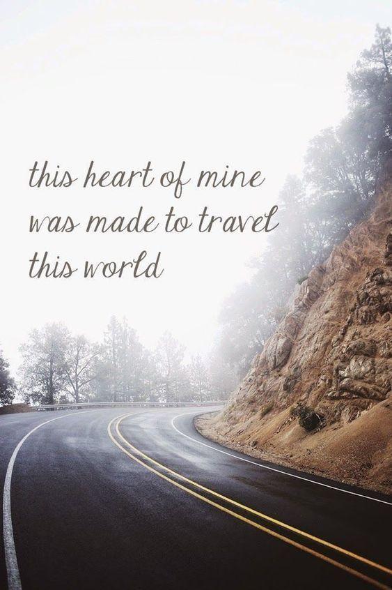 travel journal ideen und travel quote englisch. #english #travel #traveltips