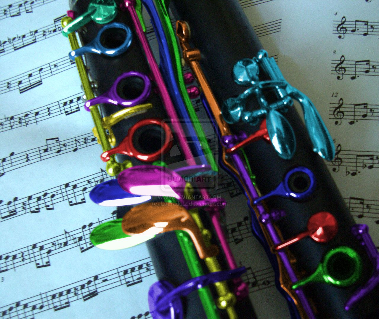 Colors of music I by Sepirgo on deviantART | Music