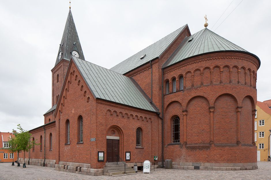 Vor Frue Kirke Aalborg Aalborg Denmark Building