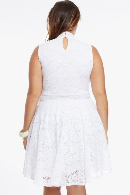 hailee lace flare dress $48.90 | for an instant dose of romance